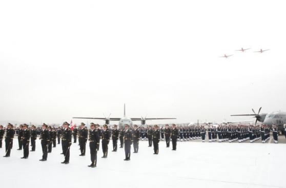 Ollanta Humala participó en graduación de Fuerza Aérea [FOTOS]