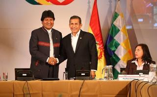 Evo Morales: Analizo con Humala la construcción de megapuertos
