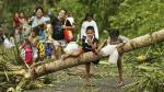 Tifón Melor deja 4 muertos y miles de evacuados en Filipinas - Noticias de filipinas tifon