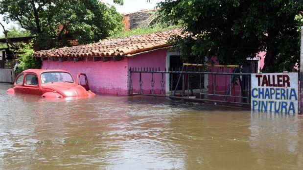 El Niño: Unos 50 mil evacuados por incremento del río Paraguay