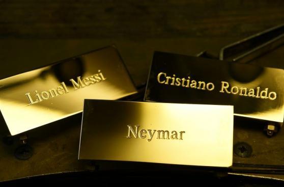 Balón de Oro: así lucirá trofeo para Messi, Neymar o Cristiano