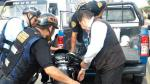 Trujillo: ladrón de celular chocó en su moto y fue detenido - Noticias de comisaría de san andrés