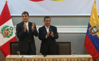 Ollanta Humala se reúne este viernes con Rafael Correa en Jaén