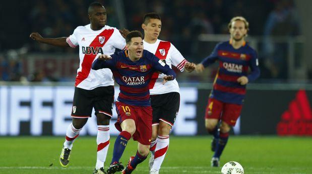 Barcelona vs. River Plate por la final del Mundial de Clubes. (Foto: Reuters)