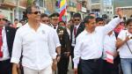 Humala y Correa: postales de la reunión de mandatarios en Jaén - Noticias de jaén