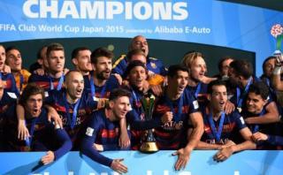 Lionel Messi celebró en Facebook tras ganar Mundial de Clubes