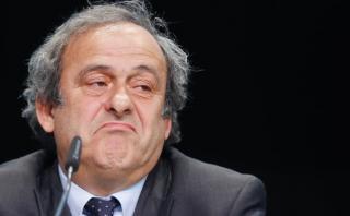 """Michel Platini fue sancionado por FIFA: """"Una auténtica farsa"""""""
