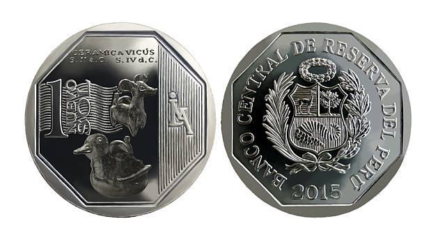 El BCR lanzó nueva moneda de S/.1 alusiva a la cerámica Vicús