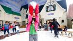 Navidad a la limeña: nieve y adornos en pleno bochorno [FOTOS] - Noticias de monte umbroso