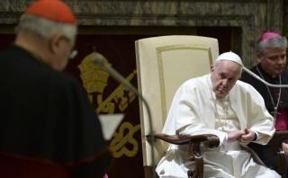 El Papa y su catálogo de virtudes para curar a la Curia romana