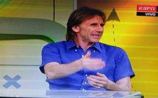 Ricardo Gareca opinó sobre cuestionamientos a Lionel Messi