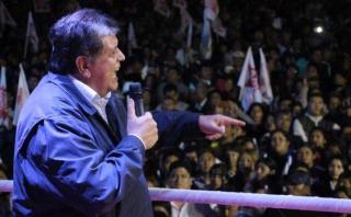 Alan García: Coalición con PPC busca una alianza con el pueblo