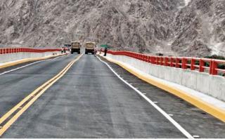 Puente inaugurado por presidente Humala presenta deformaciones