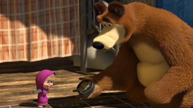 Masha y el oso supera los 1000 millones de vistas