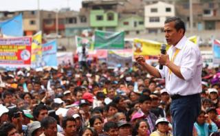 Humala: Redistribución del canon es tema para próximo gobierno