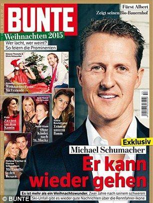 Agente de Schumacher desmintió rumores sobre si puede caminar. (Foto: Reuters)