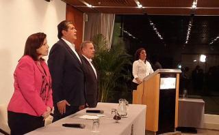 Elecciones 2016: Alianza Popular presentó plancha presidencial