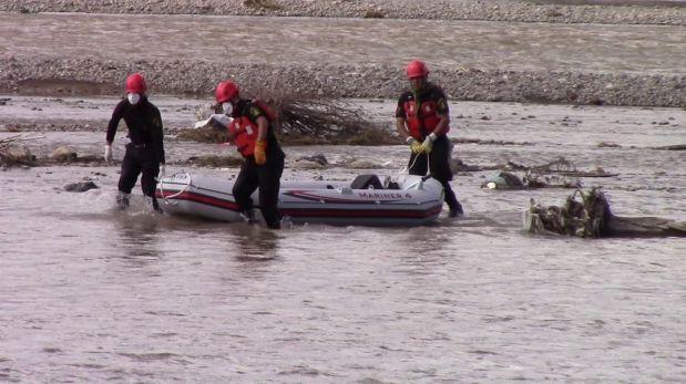 Huancavelica: tres personas desaparecieron en el río Mantaro
