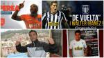 Mercado de pases: así se mueven los fichajes del fútbol peruano - Noticias de renzo castellano