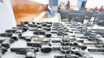 Número de armas incautadas por la PNP se triplicó en un año - Noticias de violencia psicológica