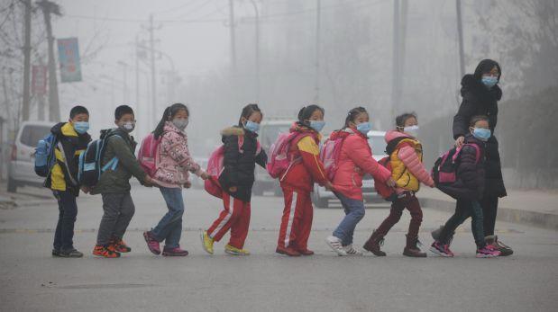 CONTAMINACION EXTREMA EN CHINA