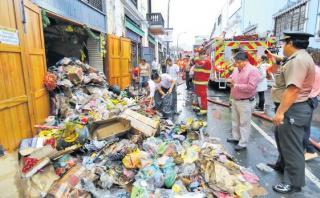 Incendios en Lima aumentaron en 35% en lo que va del mes