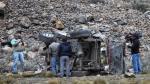 Huarochirí: dos muertos deja despiste de miniván - Noticias de accidentes en huancayo