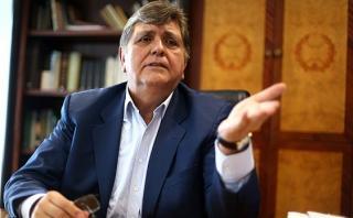 """García: """"Humala no interfiere en campaña, hable o esté callado"""""""