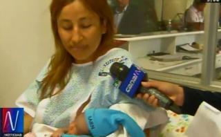 Maternidad de Lima: tres primeros bebes de Navidad son mujeres