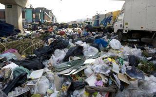 Cercado de Lima: recogen 680 toneladas de basura en Navidad