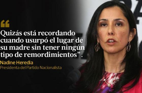 Nadine Heredia vs. Keiko Fujimori y otros duelos de este año