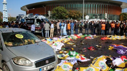 El atentado durante la manifestación a favor de la paz en octubre es el más letal jamás registrado en suelo turco.