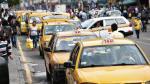 Taxis en Lima: buscan implementar taxímetros y aplicativo móvil - Noticias de taxi metropolitano