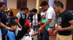 Navidad: By People y ex Miss Perú repartieron juguetes a niños - Noticias de mayra couto