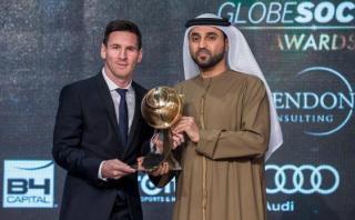 Lionel Messi fue elegido el mejor del mundo del 2015 en Dubai