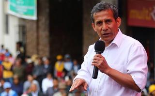 """Humala: """"¿Criticar historia es meterse en campaña electoral?"""""""