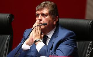 Congreso busca que TC revise acusación contra Alan García