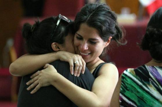 Caso Fefer: la lectura de sentencia a Eva Bracamonte en fotos