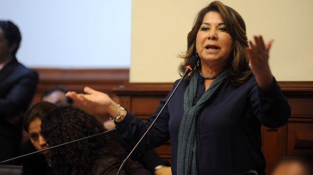 """Martha Chávez: """"El objetivo es que Keiko sea presidenta"""""""