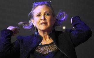 """""""Leia"""", cansada de que su edad sea tema de debate en Twitter"""
