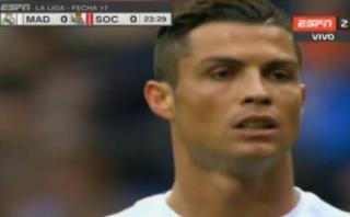 Cristiano Ronaldo erró penal y el Bernabéu lo aplaudió [VIDEO]