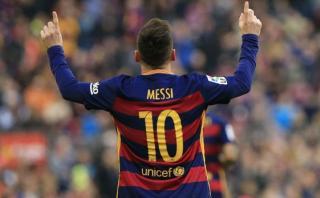 Lionel Messi llegó a los 500 partidos con el Barcelona
