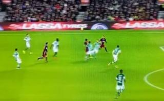 Messi y Neymar te enseñan una pared perfecta que termina en gol