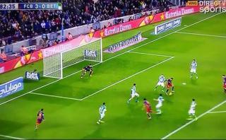 Neymar y una fantástica asistencia para gol de Suárez [VIDEO]
