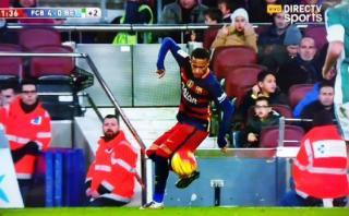 El show de Neymar: crack realizó espectacular control de taco