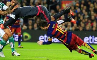 Lionel Messi: ¿Qué dijo del penal inexistente que le pitaron?