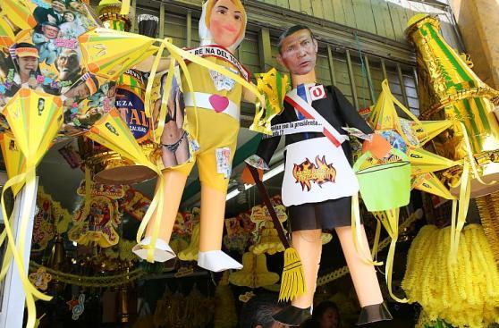La fiebre de la quema de muñecos sigue pese a prohibiciones