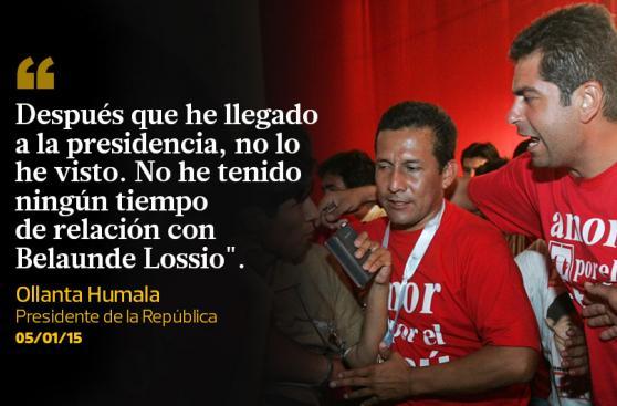 Ollanta Humala: 10 frases del presidente que marcaron el 2015
