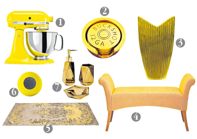 [Foto] Objetos de deseo amarillos y dorados para lucir en Año Nuevo