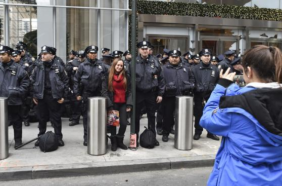 Nueva York espera el Año Nuevo con fuertes medidas de seguridad